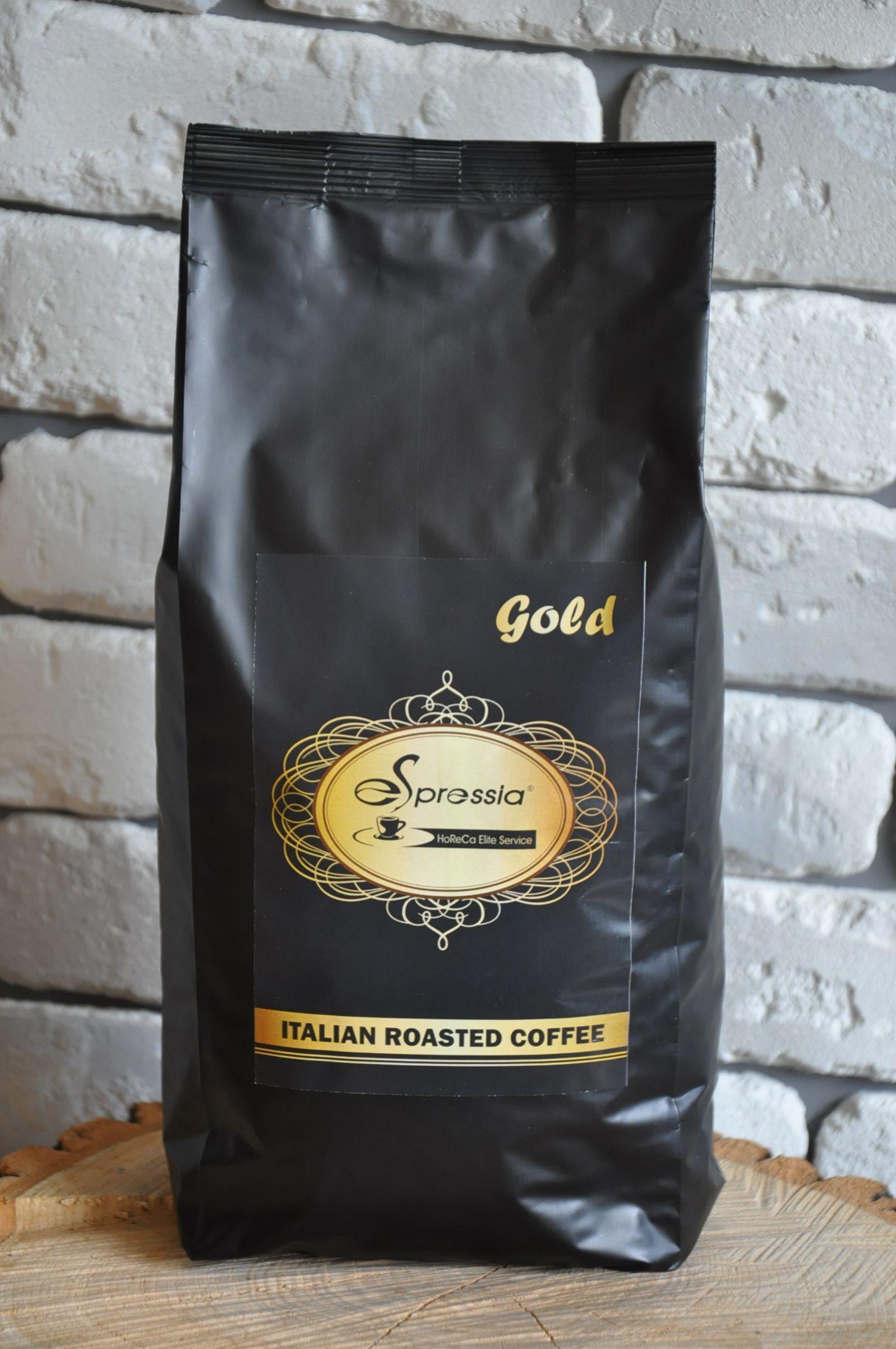 Кофе в зернах ESPRESSIA GOLD
