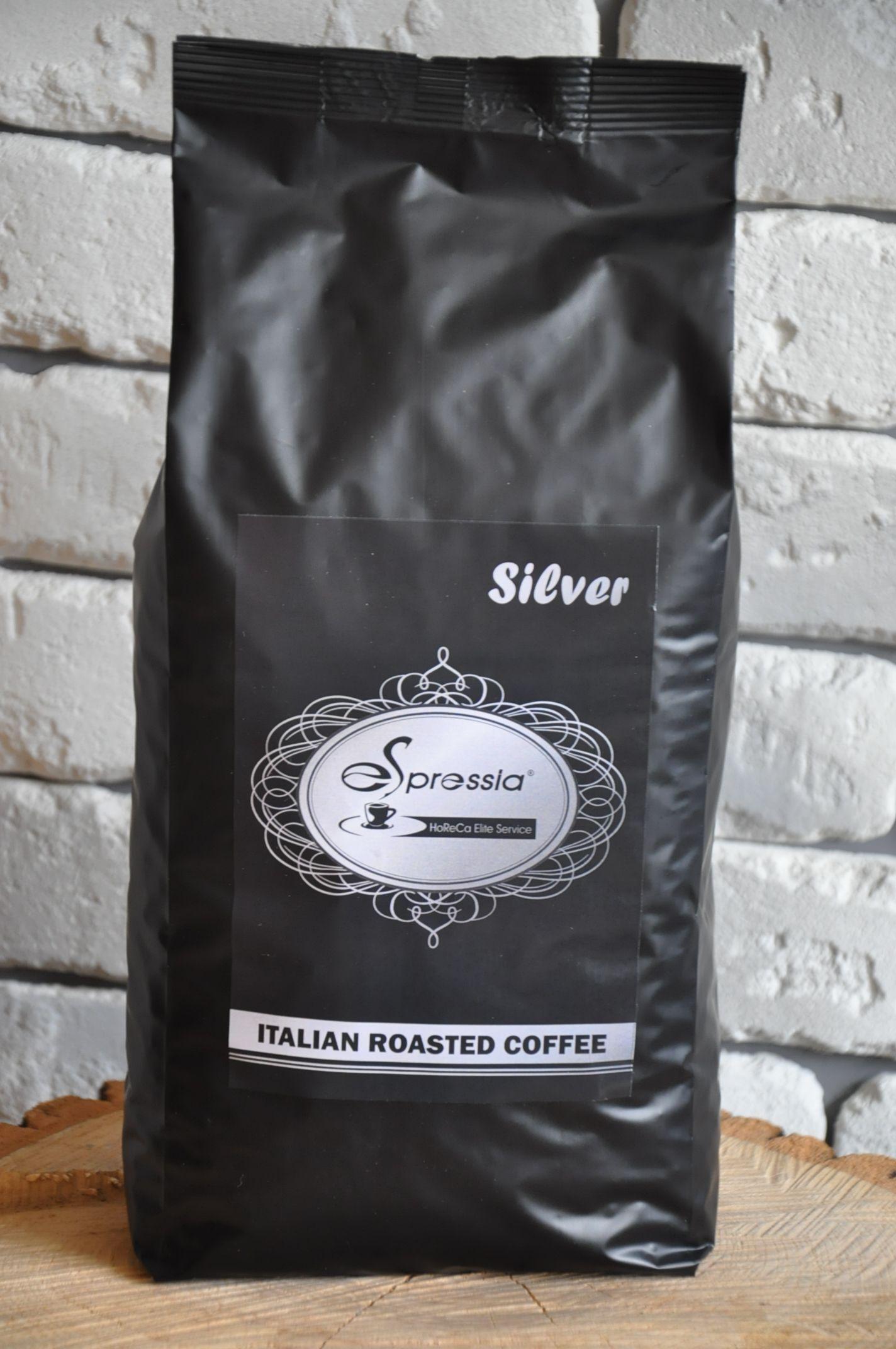 Кофе в зернах ESPRESSIA SILVER